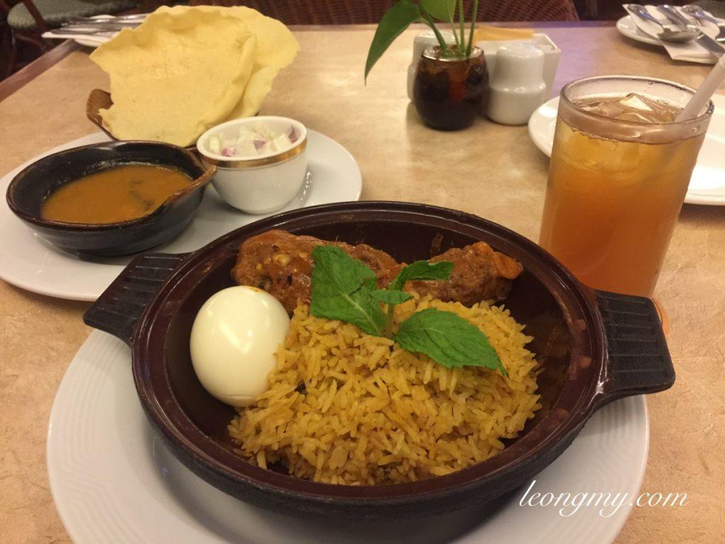 Gurney Hotel's Briyani Set Meal