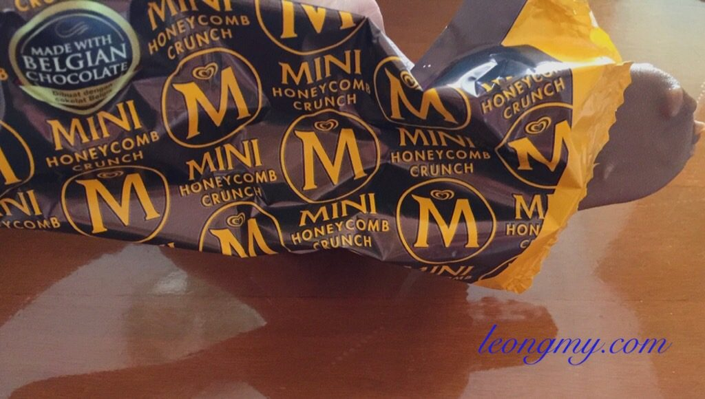 Magnum honeycomb chocolate ice cream