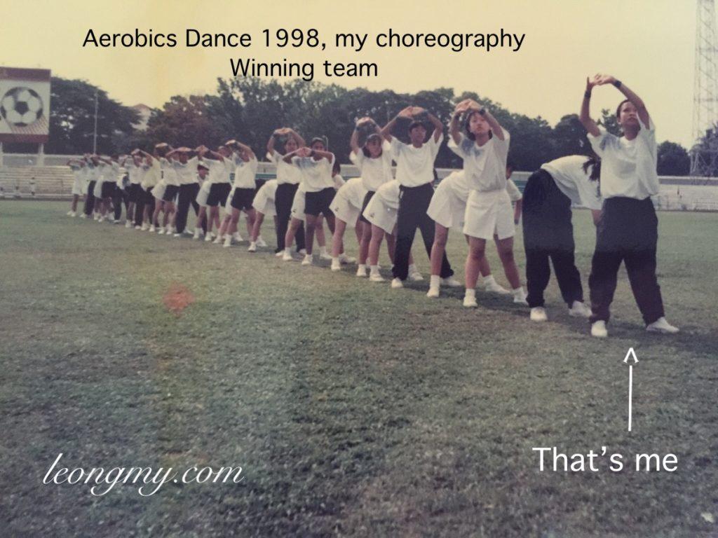 M.Y. Aerobics Dance choreography 1998